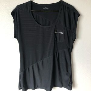 Athleta black top small